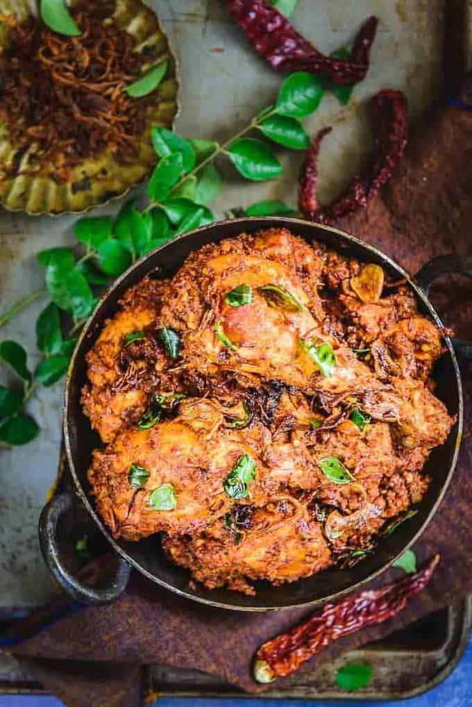 Mangalorean Chicken Sukka Recipe, How to make Mangalorean Chicken Sukka or Kori Sukka