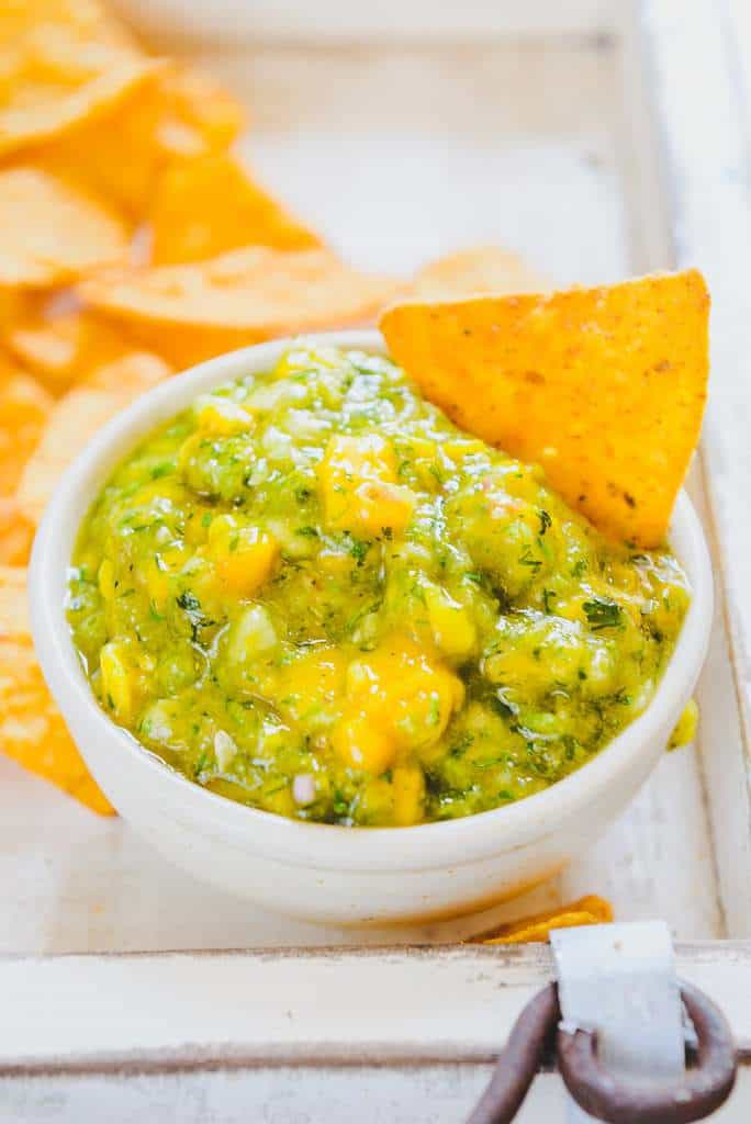 Mango Cucumber Salsa Recipe, How to make Mango Cucumber Salsa
