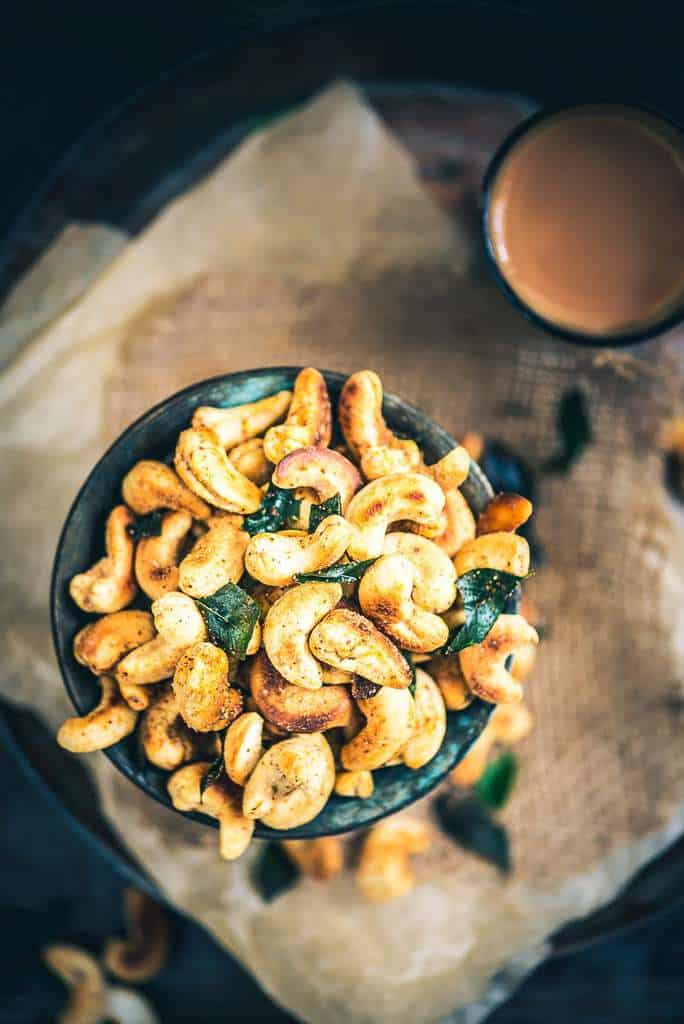 Spicy Masala Kaju Recipe, Masala Cashew Nuts