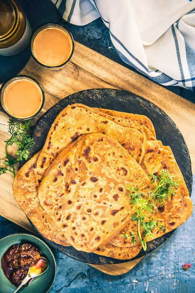 Chatpata Paratha Recipe, How to make Chatpata Paratha