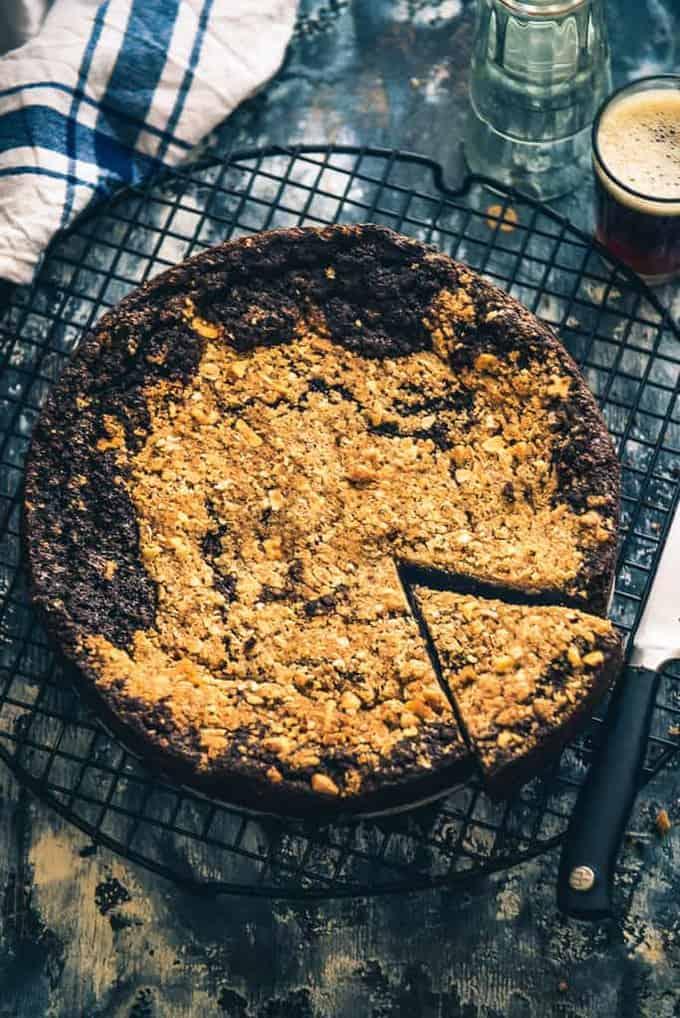 Easy walnut and coffee cake recipe