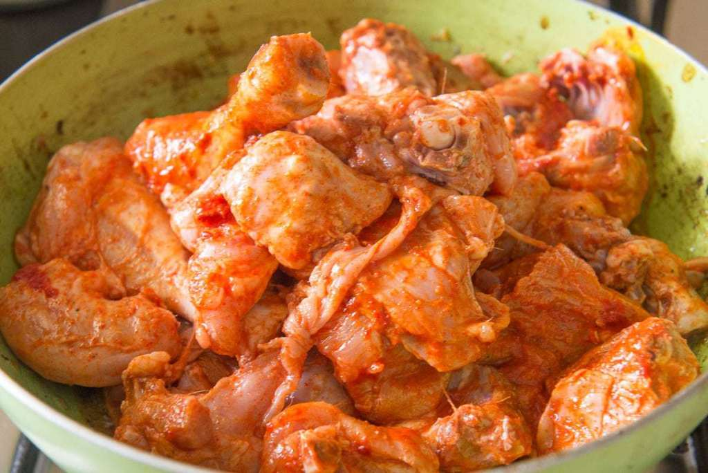 Dhaba Style Chicken Curry Recipe, Indian Chicken Recipes, highway chicken curry, Punjabi Chicken Curry, dhaba style chicken karahi recipe