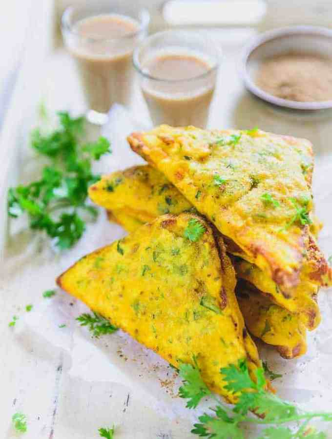 Bread Pakora Recipe I How to make Bread Pakora I Bread Pakoda is a very famous Indian tea time snack and breakfast recipe and is quite easy to make. Here is a recipe to make it.