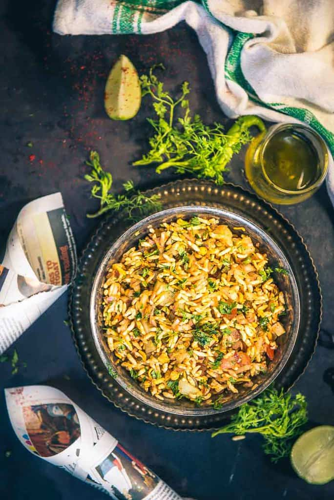 Jhal Muri Recipe (Kolkata Puffed Rice Snack)