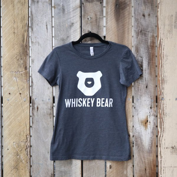 Whiskey Bear - Apparel - Ladies - SS Tee - Charcoal
