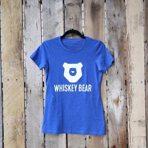 Whiskey Bear - Apparel - Ladies - SS Tee - Royal