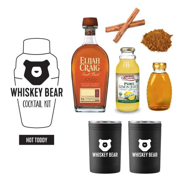 Whiskey Bear - Cocktail Kit - Hot Toddy