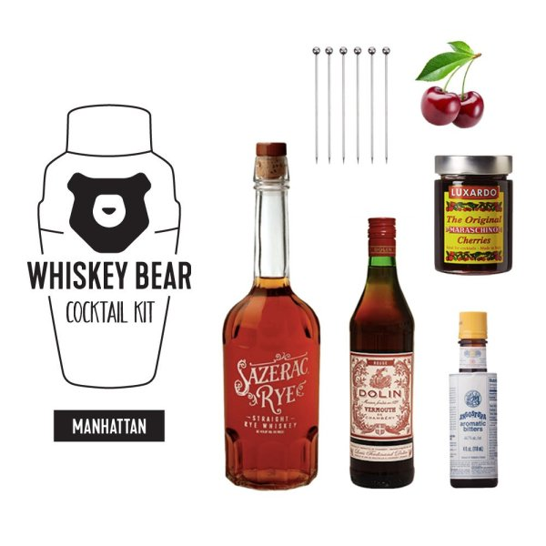 Whiskey Bear - Cocktail Kit - Manhattan