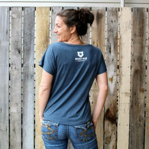 """Bear Jockey"" SS Ladies Dolman – Limited Edition"
