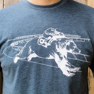 """Bear Jockey"" SS Mens T-Shirt – Limited Edition"