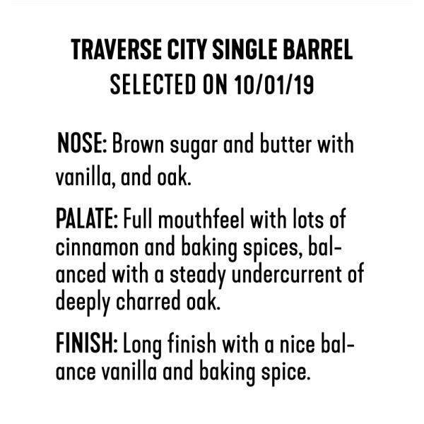 Whiskey Bear - Barrel Select - Traverse City - 100119