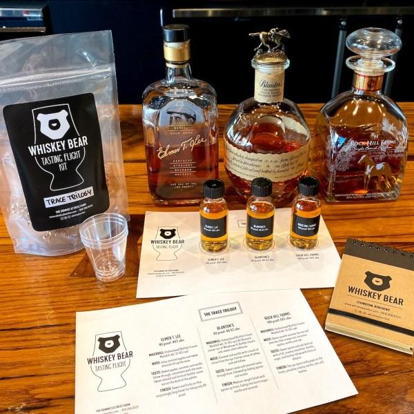 Whiskey Bear Tasting Flight Kits