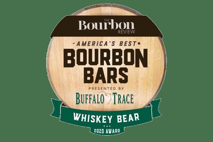 Whiskey Bear | America's Best Bourbon Bar 2020