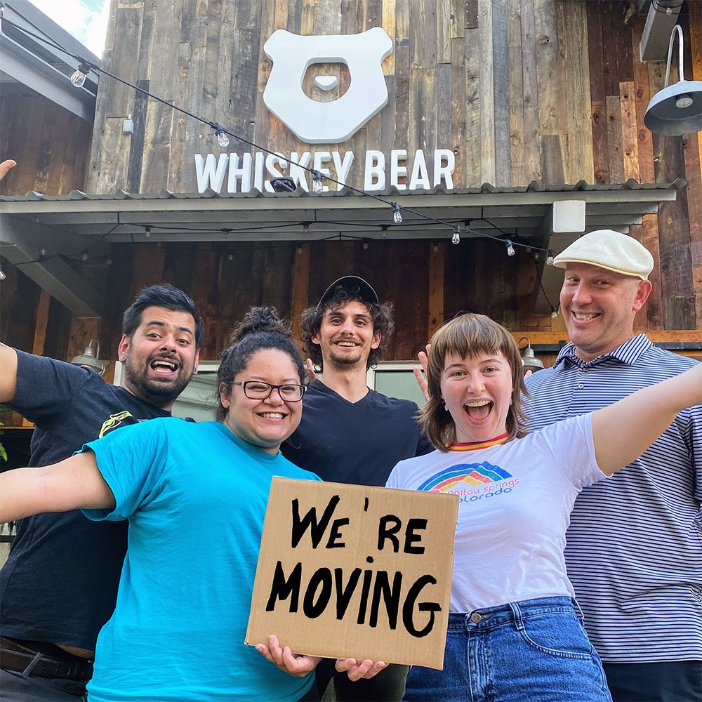 Whiskey Bear is moving to Beaumont!