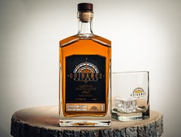 A bottle of Guidance Whiskey