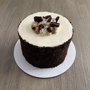 Coffee and Cookies 'N Cream Cake
