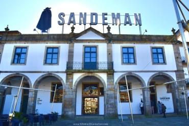 Touring Sandeman Port Cellars in Porto