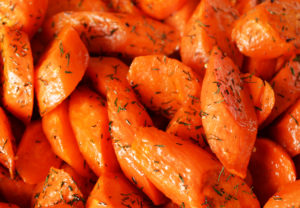 Dill Roasted Carrots