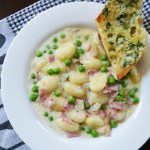 Ham and Pea Gnocchi