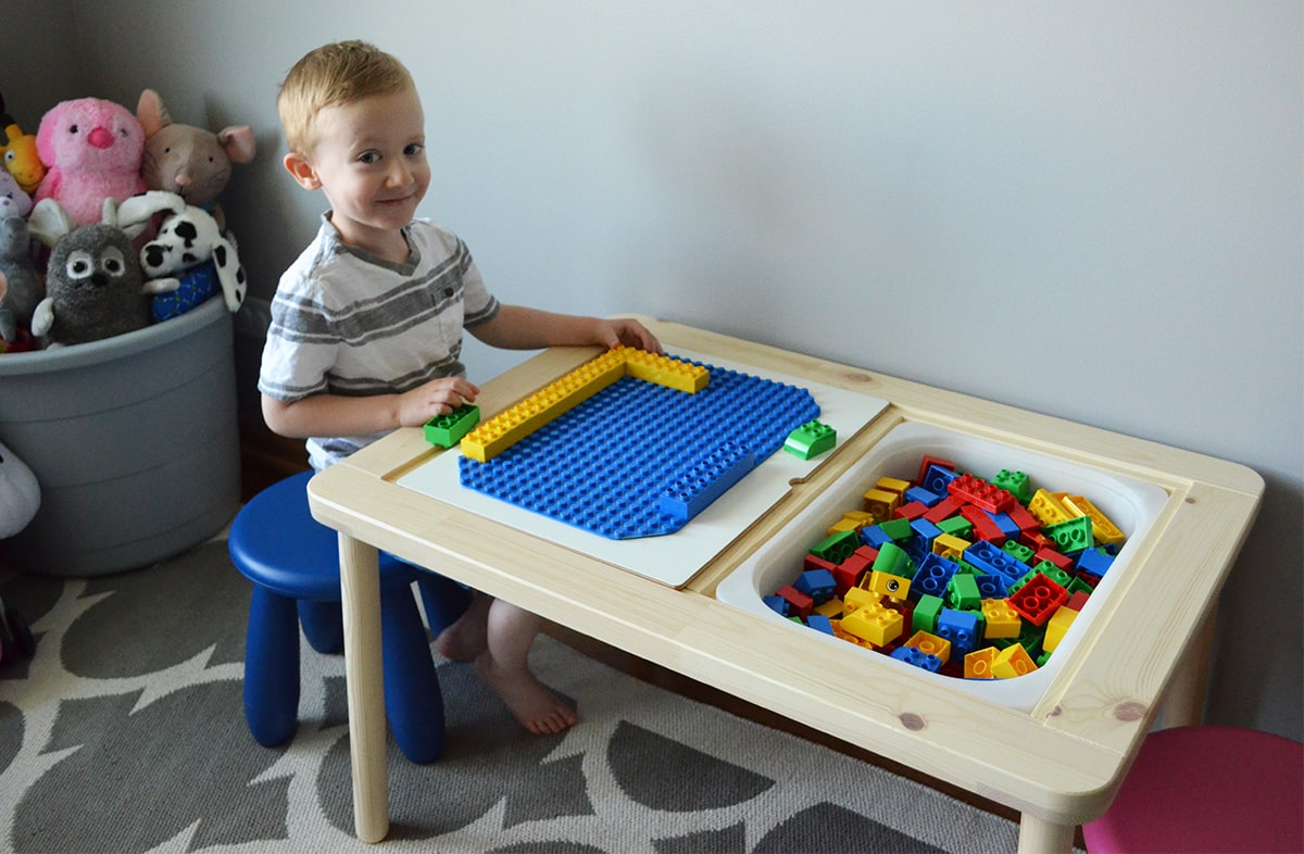 the best lego table ikea hack whisking mama. Black Bedroom Furniture Sets. Home Design Ideas