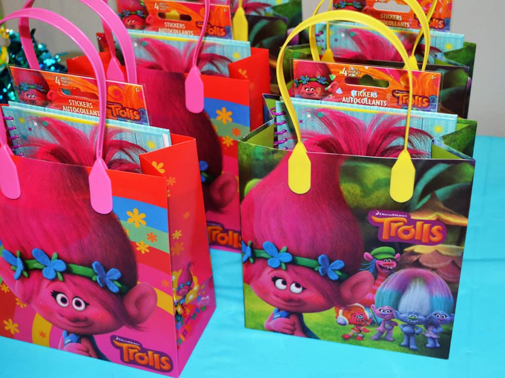 Trolls Treat bags