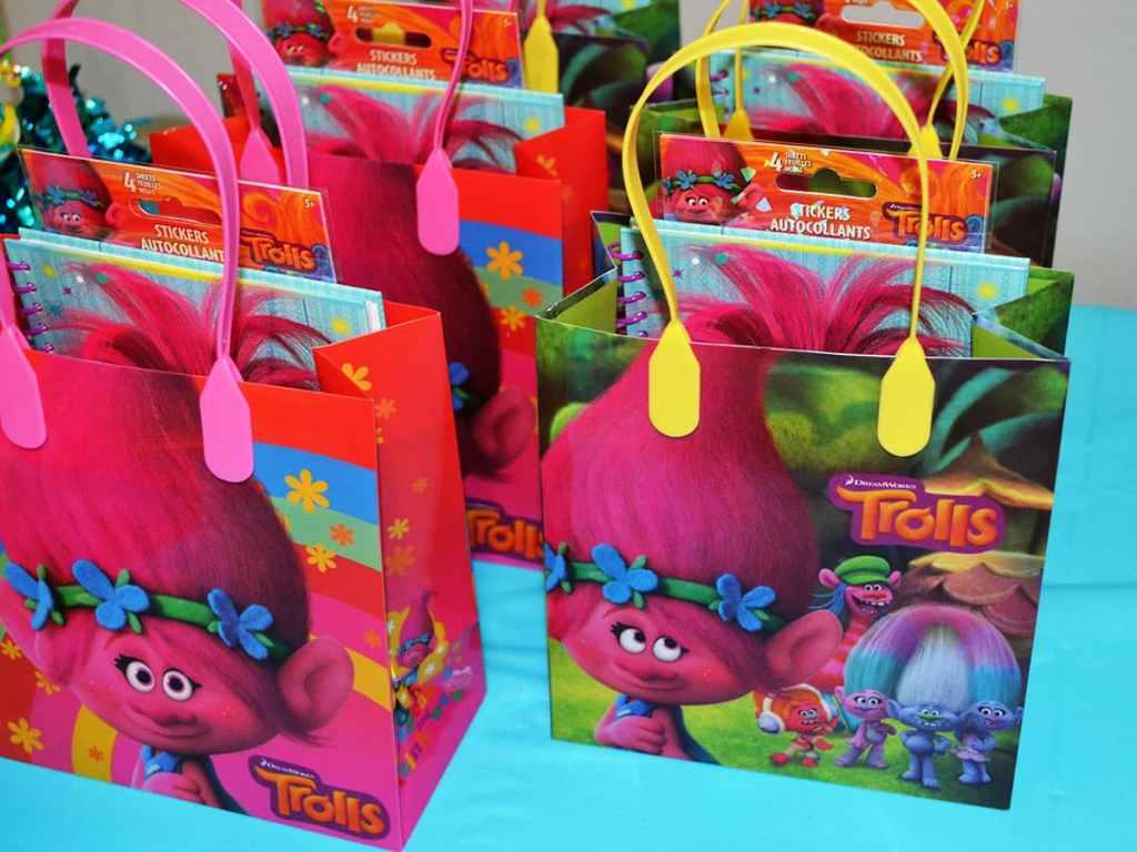 Trolls Treat bags