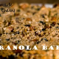 Chewy Granola Bars - From Scratch