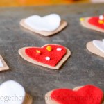 No Sugar, No Calories, No Sew Valentine Craft