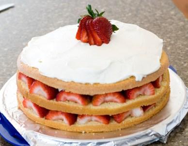 Strawberry Cream Cake_10