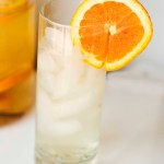 Creamsicle Water – Homemade Flavored Water