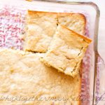 Lemon Mascarpone Blondies