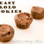 Easy Rolo Cookies