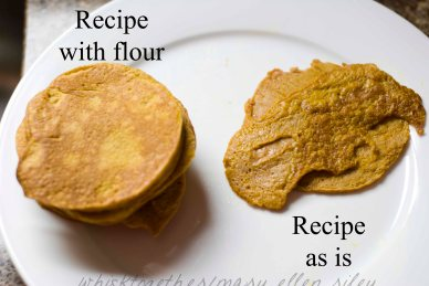 Paleo Pumpkin Pancakes on Whisk Together