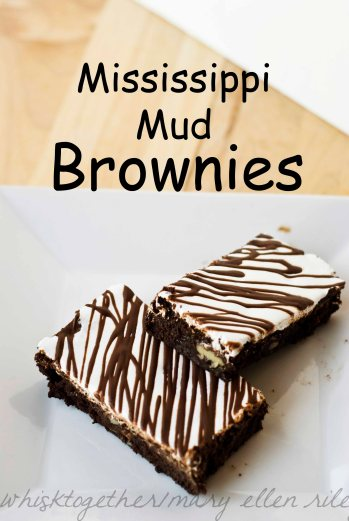 Mississippi Mud Brownies_1 on Whisk Together