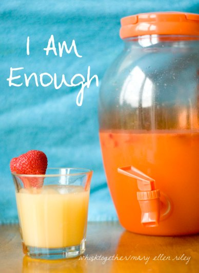 Strawberry Limeade Cooler - I am enough