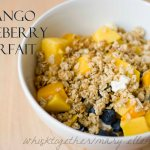 Mango Blueberry Greek Yogurt Parfait