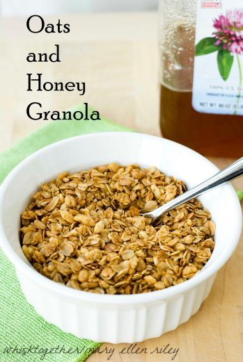 oats and honey granola_1 on Whisk Together
