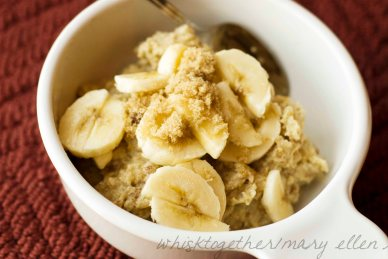Protein Packed Oatmeal by Whisk Together