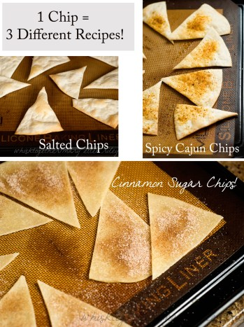 Three Tortilla Chip Recipes