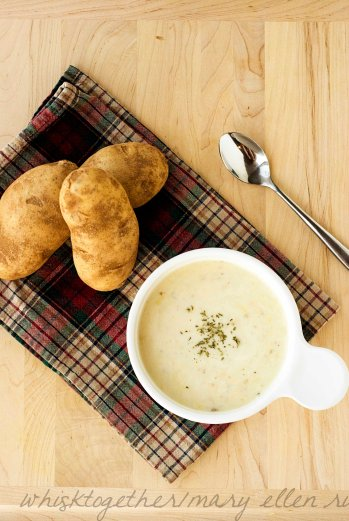 Potato Leek Soup on Whisk Together