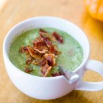 Paleo Broccoli & Cauliflower Soup