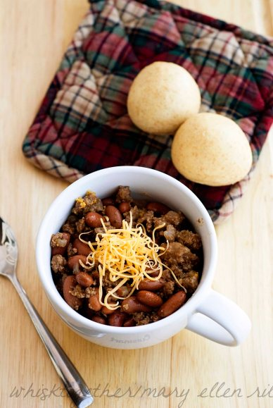 Venison Chili on Whisk Together