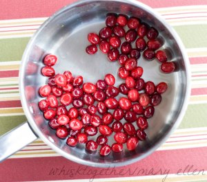 Sugared Cranberries on Whisk Together