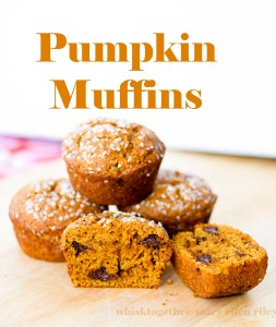 Pumpkin Muffins on Whisk Together