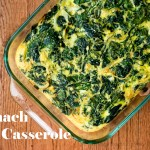 Spinach Egg Casserole