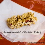 Homemade Cereal Bars and Figure Friendly Freezer Meal Plan
