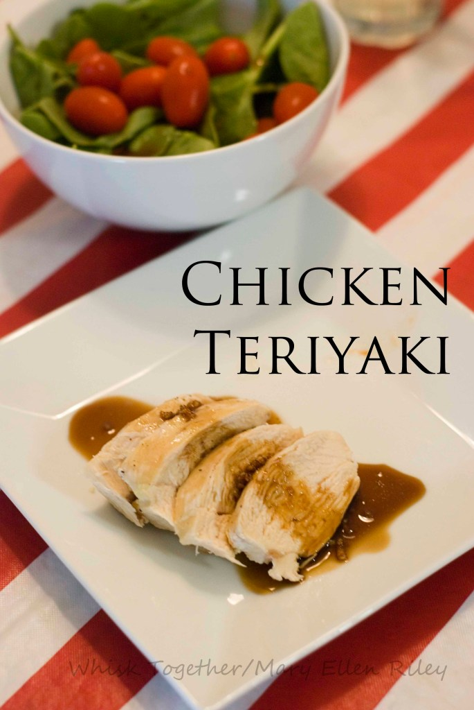 Chicken Teriyaki on Whisk Together