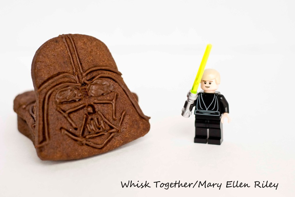 Darth Vader Cookies on Whisk Together