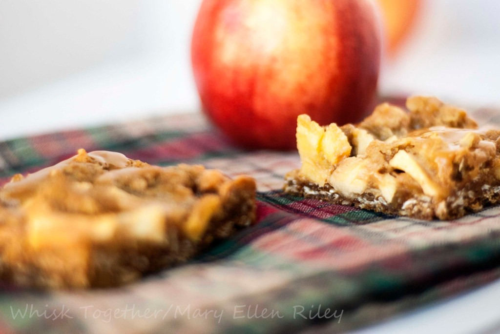 Caramel Apple Crisp Bars_3 on Whisk Together
