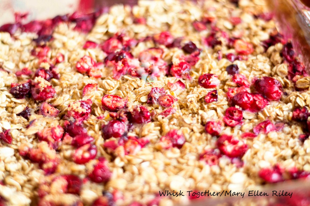 Baked Cranberry Oatmeal_3 on Whisk Together